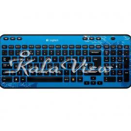 کیبورد کامپیوتر لاجیتک K360 Wireless Keyboard Indigo
