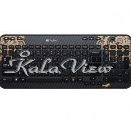 کیبورد کامپیوتر لاجیتک K360 Wireless Keyboard Victorian