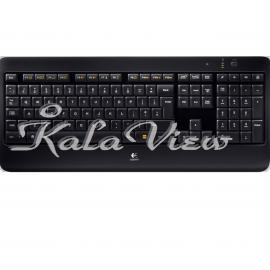 کیبورد کامپیوتر لاجیتک K800 Wireless Illuminated Keyboard