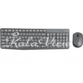 کیبورد کامپیوتر لاجیتک MK235 Keyboard and Mouse with Persian Letters