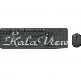 کیبورد کامپیوتر لاجیتک MK235 Keyboard and Mouse