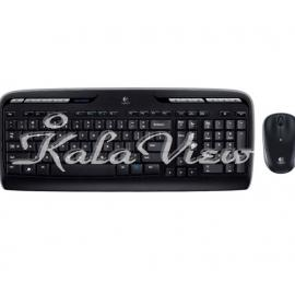 کیبورد کامپیوتر لاجیتک MK320 Wireless Keyboard and Mouse