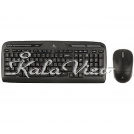 کیبورد کامپیوتر لاجیتک MK330 Wireless Keyboard and Mouse With Persian Letters