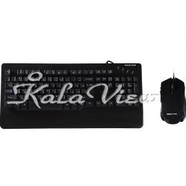 کیبورد کامپیوتر تسکو MK8000 Mech Keyboard and Mouse With Perisan Letters