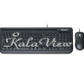 کیبورد کامپیوتر مایکروسافت Desktop 400 Wired Keyboard and Mouse