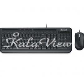 کیبورد کامپیوتر مایکروسافت Desktop 600 Keyboard and Mouse