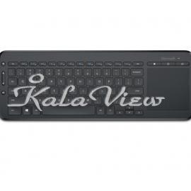 کیبورد کامپیوتر مایکروسافت All in One Media Wireless Keyboard