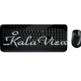 کیبورد کامپیوتر مایکروسافت Desktop 2000 Wireless Keyboard and Mouse