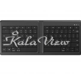 کیبورد کامپیوتر مایکروسافت Wireless Universal Foldable Keyboard