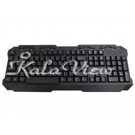 کیبورد کامپیوتر P net KB 200 Keyboard With Persian Letters