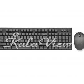کیبورد کامپیوتر Promate Keymate 3 Wireless Keyboard and Mouse
