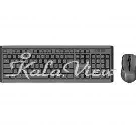 کیبورد کامپیوتر Promate ProCombo 3 Wireless Keyboard and Mouse