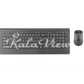 کیبورد کامپیوتر Promate ProCombo 4 Keyboard and Mouse