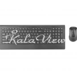 کیبورد کامپیوتر Promate ProCombo 4 Wireless Keyboard and Mouse