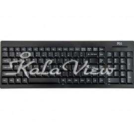 کیبورد کامپیوتر Rii RK901 Wireless Keyboard
