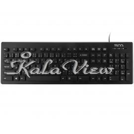 کیبورد کامپیوتر تسکو Tk8022 With Persian Letters
