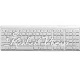 کیبورد کامپیوتر تسکو Keyboard TK 8170 White