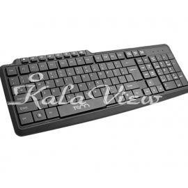 کیبورد کامپیوتر تسکو TK 8014 Wired Keyboard