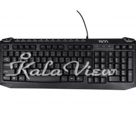 کیبورد کامپیوتر تسکو TK 8024 Keyboard With Persian Letters