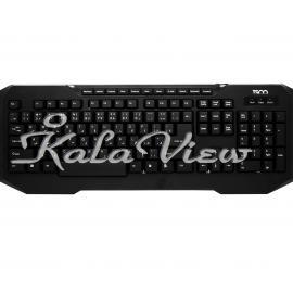کیبورد کامپیوتر تسکو TK 8026 Keyboard With Perisan Letters