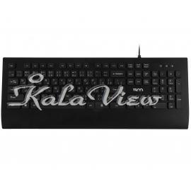 کیبورد کامپیوتر تسکو TK 8028 Keyboard With Persian Letters