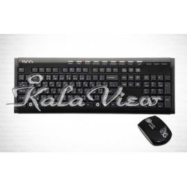 کیبورد کامپیوتر تسکو TK 8125 Keyboard and Mouse