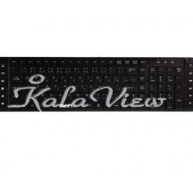 کیبورد کامپیوتر تسکو TK 8157 Keyboard With Persian Letters
