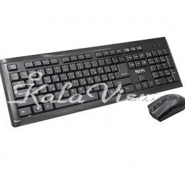 کیبورد کامپیوتر تسکو TKM 8050 Keyboard and Mouse With Persian Letters