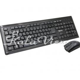 کیبورد کامپیوتر تسکو TKM 8050 Wired Keyboard and Mouse
