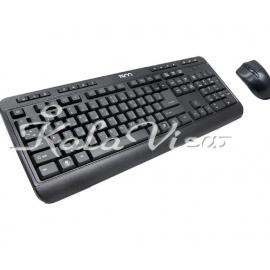 کیبورد کامپیوتر تسکو TKM 8052 Keyboard and Mouse With Persian Letters
