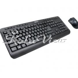 کیبورد کامپیوتر تسکو TKM 8052 Wired Keyboard and Mouse