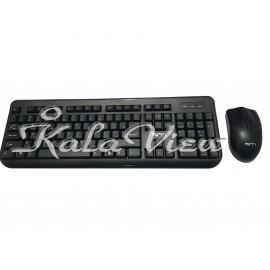 کیبورد کامپیوتر تسکو TKM 8054 Keyboard And Mouse