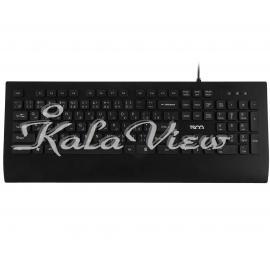 کیبورد کامپیوتر تسکو Tk 8028 With Persian Letters