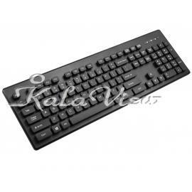 کیبورد کامپیوتر تسکو TK8022 Keyboard With Persian Letters
