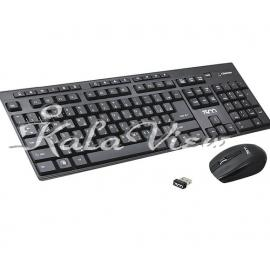 کیبورد کامپیوتر تسکو TKM 7002w Wireless Keyboard and Mouse