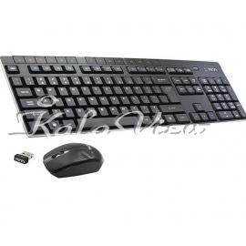 کیبورد کامپیوتر تسکو TKM 7008w Wireless Keyboard and Mouse