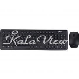 کیبورد کامپیوتر تسکو TKM 7018 Wireless Keyboard and Mouse