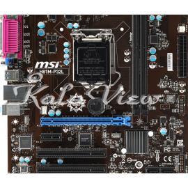 مادربرد کامپیوتر ام اس آی H81M P32L
