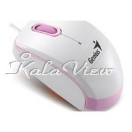 ماوس کامپیوتر جنیوس 300 Pink
