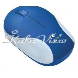 ماوس کامپیوتر لاجیتک M187 Wireless Brave Blue