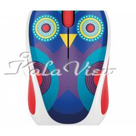 ماوس کامپیوتر لاجیتک Play Collection M238 Ophelia Owl Wireless