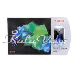 ماوس کامپیوتر Tonb With Pad TMO 292 3D