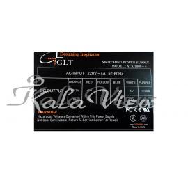 منبع تغذيه کامپيوتر Glt مدل Atx1800