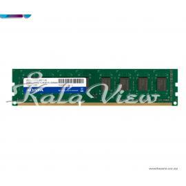 رم کامپیوتر Adata Premier DDR3( PC3 ) 1600( 12800 ) 4GB 240 PIN UDIMM