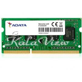 رم لپ تاپ Adata Unb DDR3L( PC3L ) 1600( 12800 ) 8GB CL11