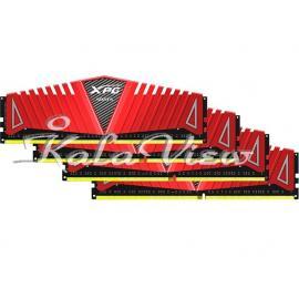 رم کامپیوتر Adata XPG Z1 DDR4( PC4 ) 2400 ( 19200 ) 16GB CL16 Quad Channel