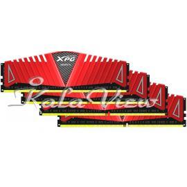 رم کامپیوتر Adata XPG Z1 DDR4( PC4 ) 2800( 22400 ) 16GB CL17 Quad Channel