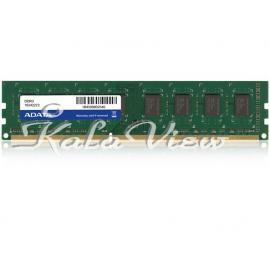 رم کامپیوتر Adata Premier DDR3( PC3 ) 1333( 10600 ) 4GB U DIMM