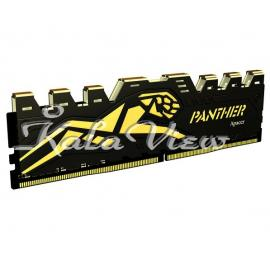 رم کامپیوتر Apacer Panther DDR4 2400MHz CL16 Single Channel Desktop RAM  4GB