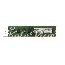 رم کامپیوتر Crucial DDR3( PC3 ) 1600 ( 12800 ) 2GB